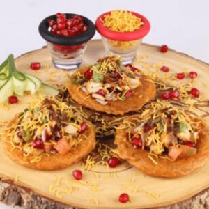 Chicken Bread Pakora Chaat Recipe