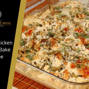Italian Chicken Cheese Bake Recipe