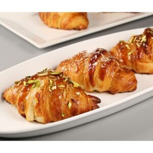 French Croissant with Tikka & Almond Fillings Recipe